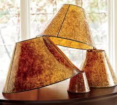 pb basic mica chandelier shades