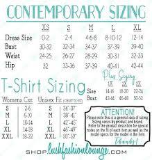 Lush Clothing Size Chart Particular Lush Clothing Size Chart Loreal Medium Blonde