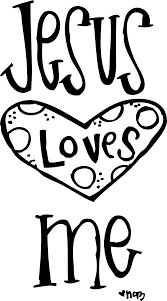 Free Coloring Pages For Jesus Loves Me Comely Jesus Loves Me