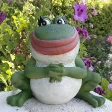 garden frog statue. Nanette Frog Statue Garden