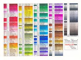 Touch Marker Color Charts Ohuhu Markers Sketch Markers