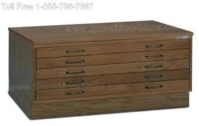 wood flat file antique cabinet files for
