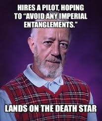 Hilarious, star wars is on Pinterest | Star Wars, Funny Star Wars ... via Relatably.com