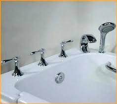 bathtub faucet with diverter how bathtub spout diverter valve repair