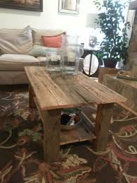 idea of the day coffee table made from our reclaimed barnwood