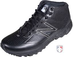 new balance umpire shoes. new balance mlb all-black mid-cut umpire base shoes e