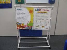 Anchor Chart Easel 7 Teacher Flip Chart Stand Made From Pvc Pipes So Easy And