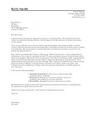 Cover Letter Opening Writing Proper Resume For Format Career Change