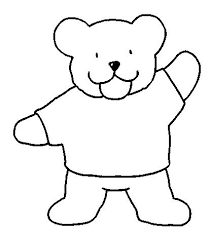 Small Picture Bear Coloring Pages Preschool and Kindergarten bear coloring