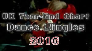 Uk Year End Chart Dance Singles 2016