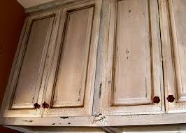 distressed kitchen cabinets awesome distress ideas t pr