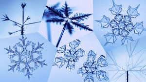 Resultado de imagen de Los cristales de hielo