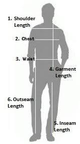 Indian Suit Measurements Chart Bedowntowndaytona Com