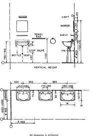 hand wash basins bathroom dimensions