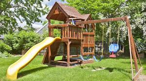 installation tips for building backyard swing sets for kids