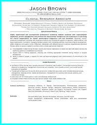 Clinical Research Coordinator Resume Sample Clinical Research Resume