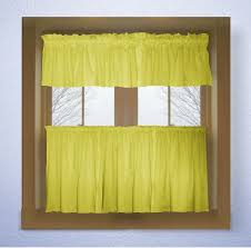 Yellow Kitchen Valance