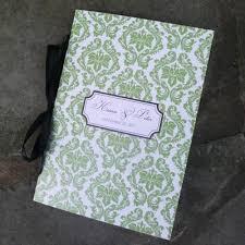 Booklet Program Template Damask Wedding Program Booklet Template