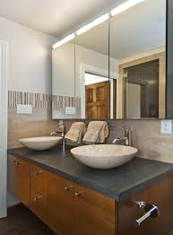 semi recessed bathroom sink bathroom transitional with bathroom hardware bathroom mirrors bathroom sink lighting
