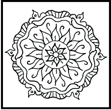 Lovely Easy Mandala Coloring Pages Or Coloring Pages Mandala Designs