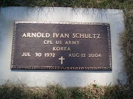 Arnold Ivan Schultz (1932-2004) - Find A Grave Memorial