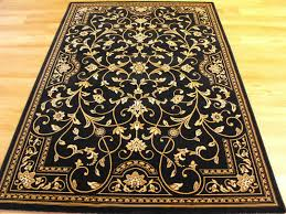 fresh black and gold rug area marvelous outdoor patio rugs as
