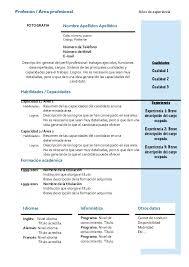 Curriculum Vitae Modelo 2015 Doc Modelo De Curriculum Vitae Peru