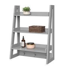 ladder shelf hanging storage shelves