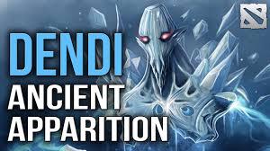 dendi ancient apparition dota 2 ranked gameplay youtube