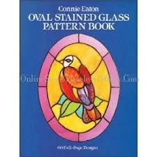 Stained Glass Pattern Books Fascinating OVAL STAINED GLASS PATTERNS BOOK 48 BOOK OVAL STAINED GLASS