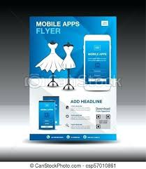 Create Flyer Online For Free Mobile Application Promotion Flyers App
