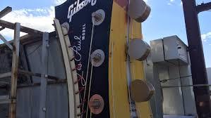 Restoring The Hard Rock Guitar Sign Back To Its Original