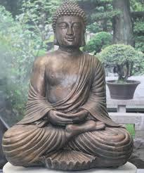 garden buddha. Fan-buddha Garden Buddha