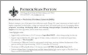 Soccer Coach Resume Cover Letter Football Baseball For College Best Impressive Soccer Coach Resume