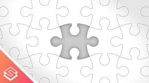 Inkscape Tutorial Vector Puzzle Pieces Youtube