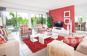 ... Perfect Red And White Living Room Ideas Red And White Living Room  Decorating Ideas ...