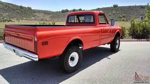 Chevrolet K20 C20 Pickup truck Fire 4X4