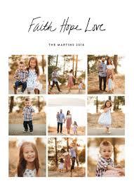 Basil Design Studio Faith Hope Love In 2019 Christmas Holiday Cards