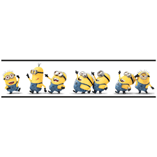 Minion Bedroom Wallpaper Despicable Me Minions Border 156cm X 5m