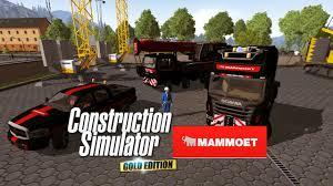 Construction Simulator 2015 Mammoet Mod Paketi Steam At Lye Construction Simulator 2015 Moddownload
