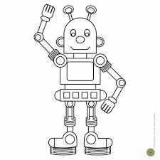 Afbeeldingsresultaat Voor Kleurplaat Robots Fensterbild Roboter