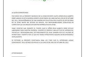 Carta De Recomendacion Personal No Laboral Carta De Referencia Laborales Major Magdalene Project Org