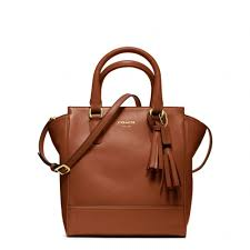 Lyst - Coach Legacy Leather Mini Tanner in Brown