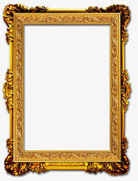 gold frame frame clipart frame png image and clipart