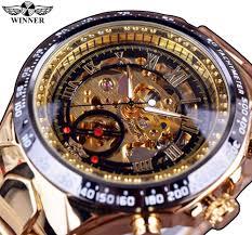 skeleton watches men reviews online shopping skeleton watches winner new number sport design bezel golden watch mens watches top brand luxury montre homme clock men automatic skeleton watch