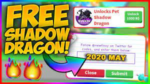 Adopt me shadow dragon code 2021. Free Shadow Dragon Code In Adopt Me Roblox May 2020 Youtube
