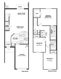 townhouse floor plans. Martins Crossing Bloxham Floor Plan Townhouse Plans N