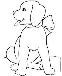 Animal Coloring Pages Free Printable Passion Slp Puppy
