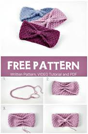 Free Crochet Baby Headband Patterns