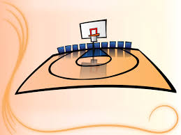 Basketball Powerpoint Template Free Basketball Court Backgrounds Sports Templates Free Ppt Grounds